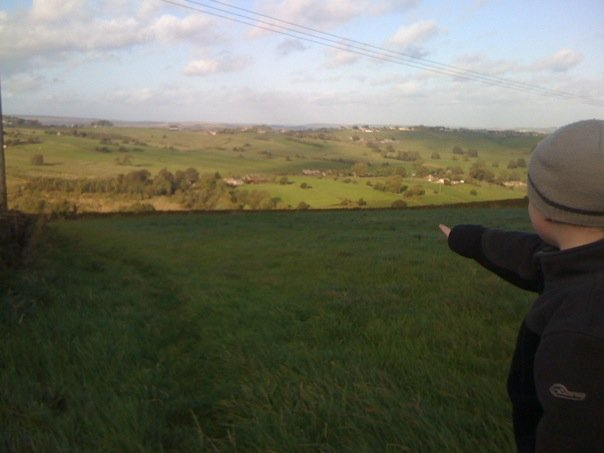 Geocaching views arounf Thornton!