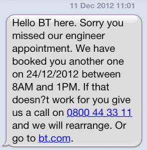 BT SMS 1