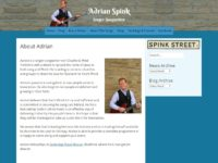 Adrian Spink: Singer-Songwriter